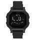 NIXON ニクソン 腕時計 SIREN - All Black - A1311-001 サイレン オールブラック デジタル時計 タイドグラフ クロノグラフ 100M/10気圧防水 レディース サーフィン アウトドア 誕生日 クリスマス プレゼント