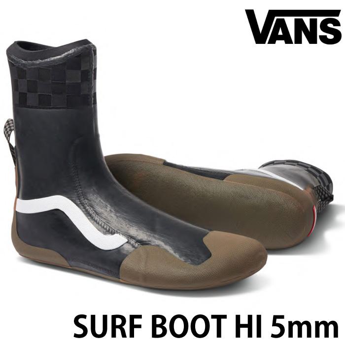 VANS バンズ ヴァンズ サーフブーツ SURF BOOTS HI 5mmブーツ トリップサーフシューズ リーフブーツ マリンシューズ サーフィン用ブーツ サーフィンブーツ
