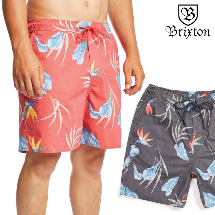 BRIXTON ブリクストン メンズ ボードショーツ HAVANA TRUNK 海パン トランクス ボトム ショートパンツ ハーフパンツ 水陸両用 ハイブリッド 男性用