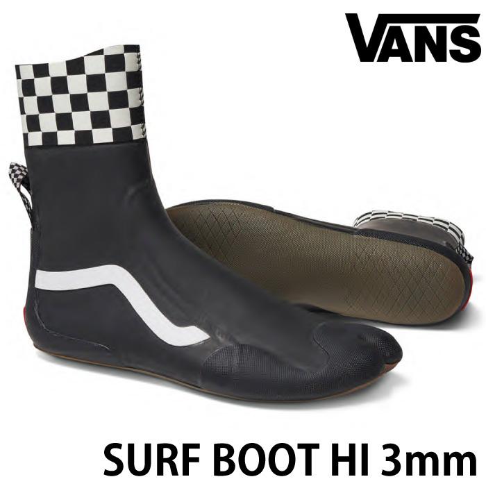 VANS バンズ ヴァンズ サーフブーツ SURF BOOTS HI 3mmブーツ トリップサーフシューズ リーフブーツ マリンシューズ サーフィン用ブーツ サーフィンブーツ