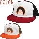 POLeR ポーラー メンズ 帽子 211ACM7402 THE SUNNY BOI HAT キャップ ハットスナップバック 5パネル UVケアケア 日焼け防止 日焼け対策 日焼け止め 男性用