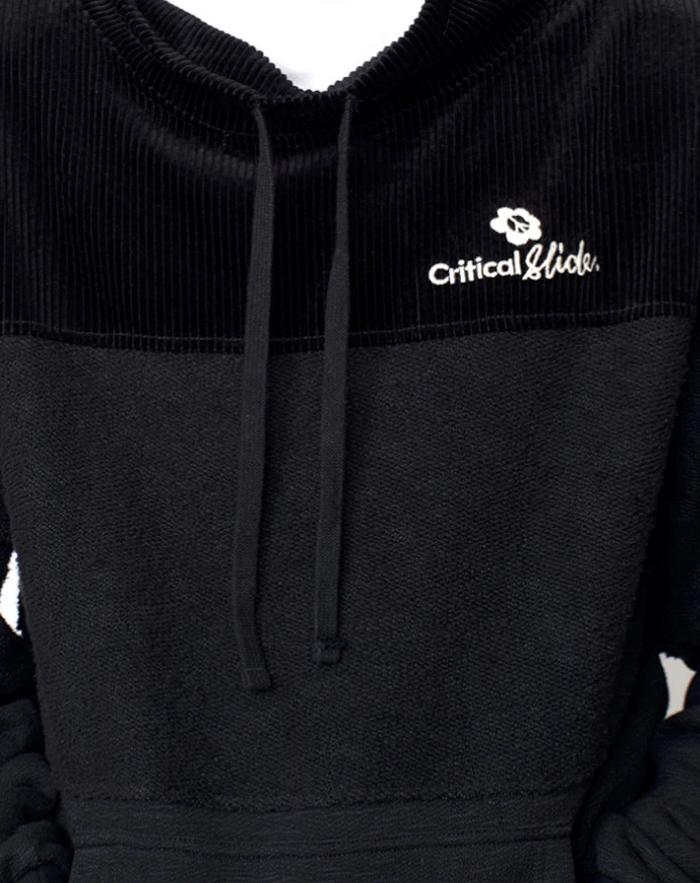 Critical Slide (TCSS) クリティカルスライド メンズ トレーナー FC2006 B SIDE CREW スタンドカラー モックネック トップス スウェット ブランド 男性用