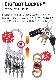 NITEIZE ナイトアイズ ビッグフットロッカー BIGFOOT LOCKER キーラック S-BINER エスビナー Sビナー マイクロロック 鍵 5本 まとめる カラビナ キーホルダー キーリング