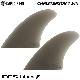 ショートボード用フィン CAPTAIN FIN CO. キャプテンフィン CHRISTENSON TWIN クリステンソン ツインフィン ファイバーグラス FCS FUTURES. 2フィン サーフィン