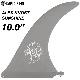 ロングボード用フィン CAPTAIN FIN CO. キャプテンフィン ALEX KNOST SUNSHINE 10 アレックスノスト サンシャイン センターフィン シングルフィン サーフィン