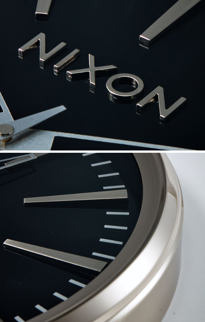 NIXON ニクソン 壁掛け時計 THE SENTRY WALL CLOCK - Black - C3075-000 セントリー ウォールクロック インテリア おしゃれ 新築祝い 引っ越し祝い プレゼント