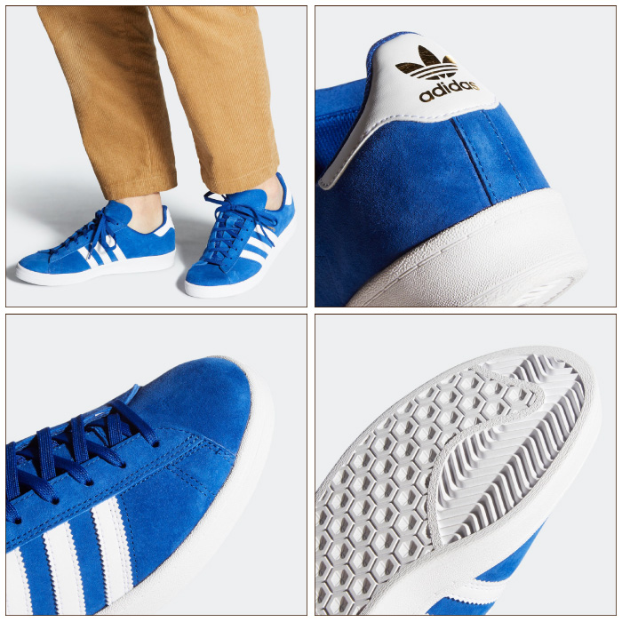 adidas SKATEBOARDING アディダス スケートボーディング スニーカー FV5943 CAMPUS ADV シューズ ローカット スケートシューズ スケシュー 靴 男性用