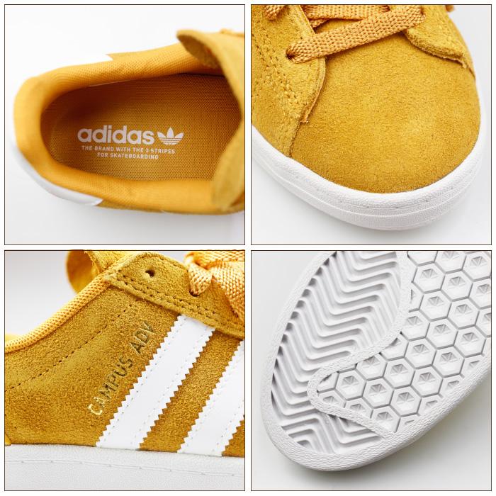 adidas SKATEBOARDING アディダス スケートボーディング スニーカー EF8474 CAMPUS ADV シューズ ローカット スケートシューズ スケシュー 靴 男性用