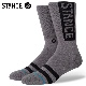 STANCE SOCKS スタンスソックス メンズ靴下 OG - Graphite スケーターソックス ハイソックス メンズソックス