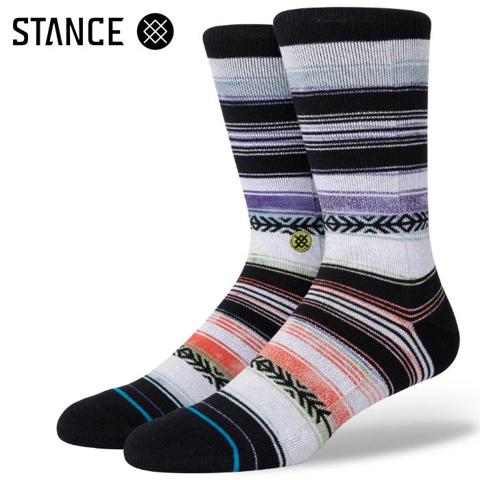 STANCE SOCKS スタンスソックス メンズ靴下 REYKIR - Lime スケーターソックス ハイソックス メンズソックス