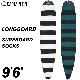 """サーフボードケース ロングボード用 CAPTAIN FIN CO. キャプテンフィン LONGBOARD SURFBOARD SOCKS 9'6"""" ニットケース ソフトケース ロング用 サーフィン"""