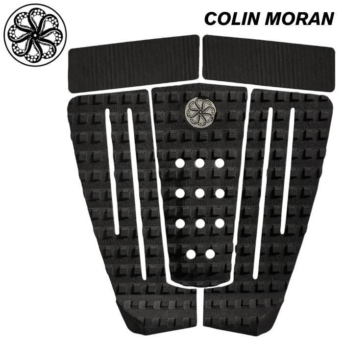 デッキパッド OCTOPUS オクトパス COLIN MORAN コリンモラン 5ピース ショートボード用 デッキパッチ デッキパット サーフィン