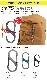NITEIZE ナイトアイズ エスビナー スライドロック #3 S-BINER Slide Lock Sビナー S字フック カラビナ キーホルダー キーリング