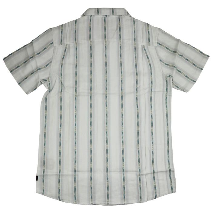 ROARK REVIVAL ロアーク リバイバル メンズ 半袖シャツ RW488 UJUNG KULON WOVEN トップス 半袖 襟付き ボタン 旅行 旅 コットン100% 男性用