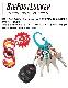 NITEIZE ナイトアイズ ビッグフットロッカー アルミニウム BIGFOOT LOCKER ALUMINUM キーラック S-BINER エスビナー Sビナー マイクロロック 鍵 5本 まとめる カラビナ キーホルダー キーリング