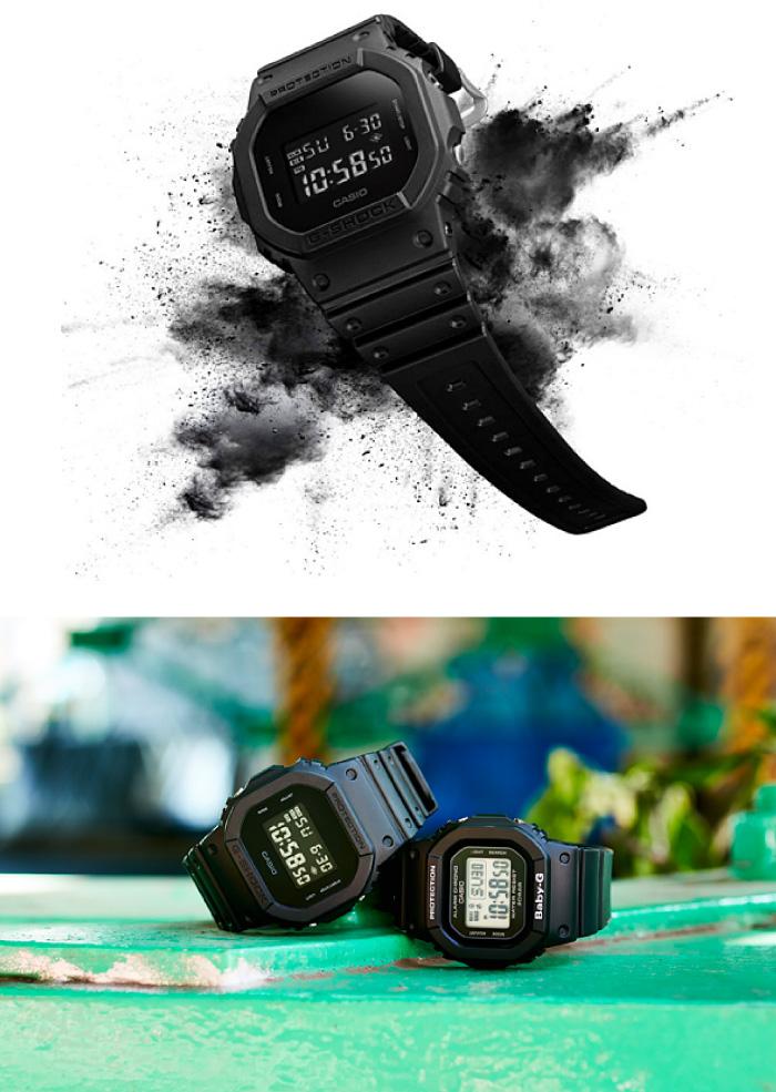 G-SHOCK ジーショック 腕時計 ウォッチ DW-5600BB-1JF【全モ後不可】