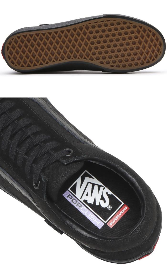 VANS バンズ ヴァンズ スニーカー ローカット (VN0A5FCBBKA) SKATE OLD SKOOL - BLACK/BLACK スケートオールドスクール オールブラック メンズスニーカー スケートシューズ スケシュー 靴 男性用