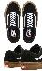 VANS バンズ ヴァンズ スニーカー ローカット (VN0A5FCBB9M) SKATE OLD SKOOL - BLACK/GUM スケートオールドスクール ブラック/ガム メンズスニーカー スケートシューズ スケシュー 靴 男性用
