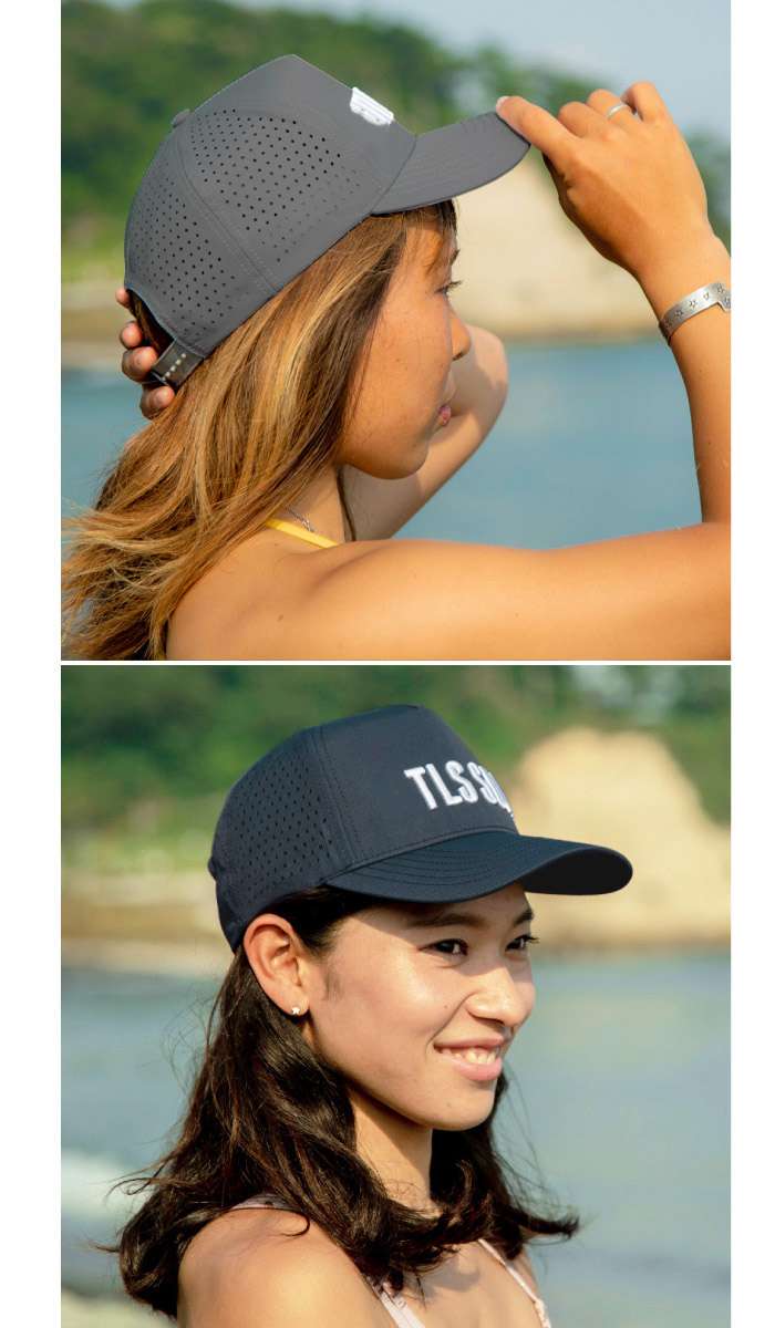 TOOLS ツールス THE SURF CAP サーフィン用 サーフキャップ メッシュ UVケア サーフハット メンズサイズ 男性用 日焼け防止 日焼け対策 日焼け止め
