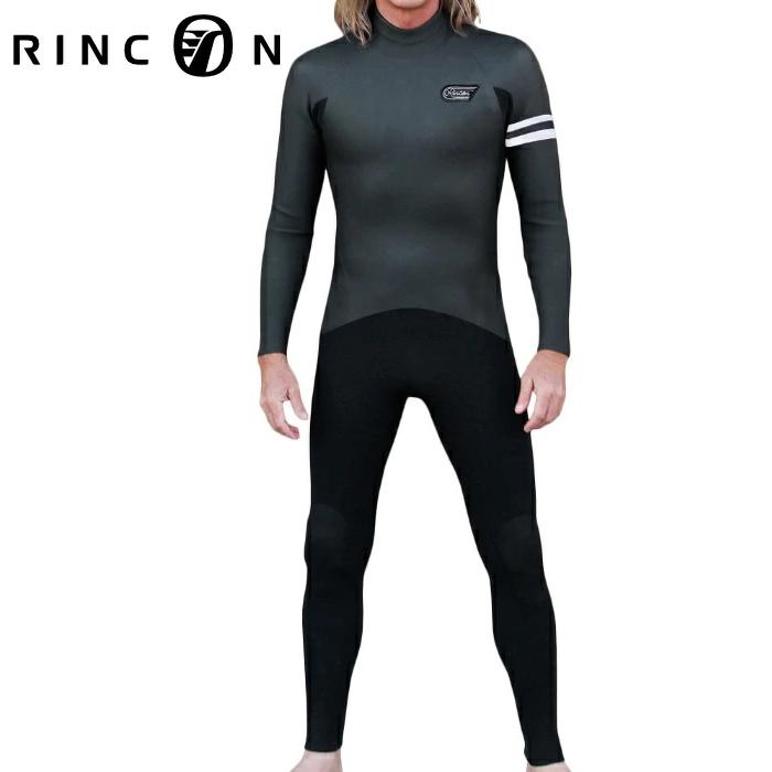 RINCON リンコン ウエットスーツ メンズ MANIAC別注 ICON BZ アイコンバックジップ 3mm/2mmフルスーツ 長袖長ズボン ウェットスーツ サーフィン 男性用
