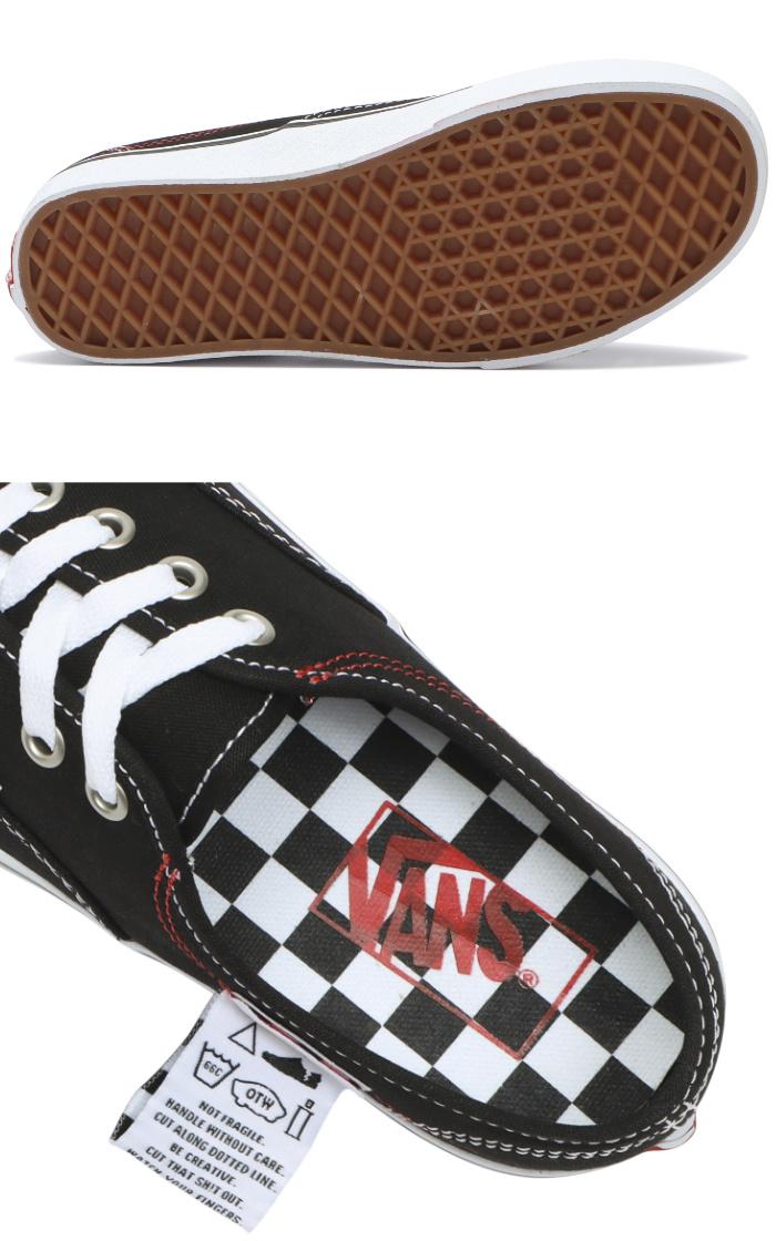 VANS バンズ ヴァンズ スニーカー ローカット (VN0A4UUCU7B) AUTHENTIC HC (DIY) - BLACK/T.WHITE オーセンティックHC ブラック メンズスニーカー スケートシューズ スケシュー 靴 男性用