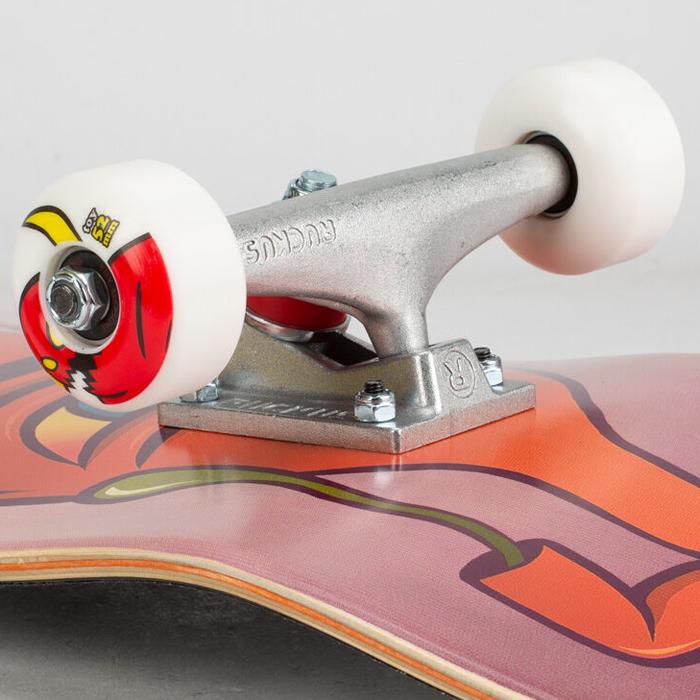 """スケボー コンプリート スケートボード TOY MACHINE トイマシーン SECT GUTS 8.38"""" ストリート トリック 大人用 誕生日 クリスマス プレゼント"""