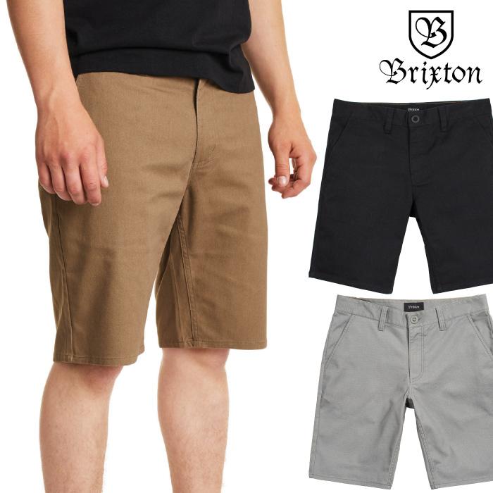 BRIXTON ブリクストン メンズ ボトム TOIL II HEMMED SHORT ショーツ ショートパンツ ハーフパンツ 男性用