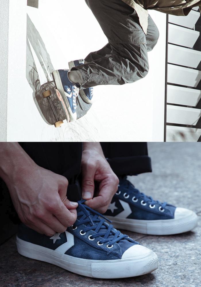 CONVERSE SKATEBOARDING コンバーススケートボーディング スニーカー BREAKSTAR SK OX + ブレイクスター シューズ ローカット スケートシューズ スケシュー 靴 メンズ 男性用