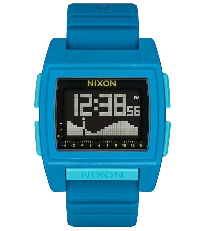 NIXON ニクソン 腕時計 THE BASE TIDE PRO - Sapphire - A1307-1543 ベースタイドプロ サファイア デジタル時計 タイドグラフ クロノグラフ 100M/10気圧防水 メンズ サーフィン アウトドア 誕生日 クリスマス プレゼント