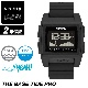 NIXON ニクソン 腕時計 THE BASE TIDE PRO - Black - A1307-000 ベースタイドプロ ブラック デジタル時計 タイドグラフ クロノグラフ 100M/10気圧防水 メンズ サーフィン アウトドア 誕生日 クリスマス プレゼント