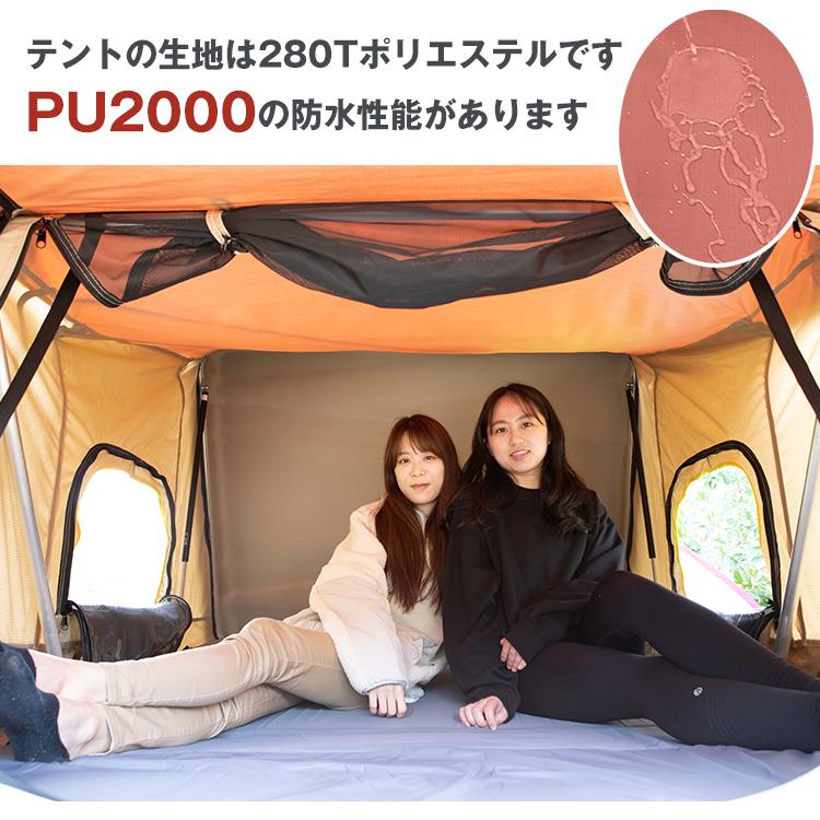 ファミリールーフトップ テント od433