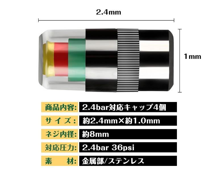 空気圧お知らせバルブキャップ e113