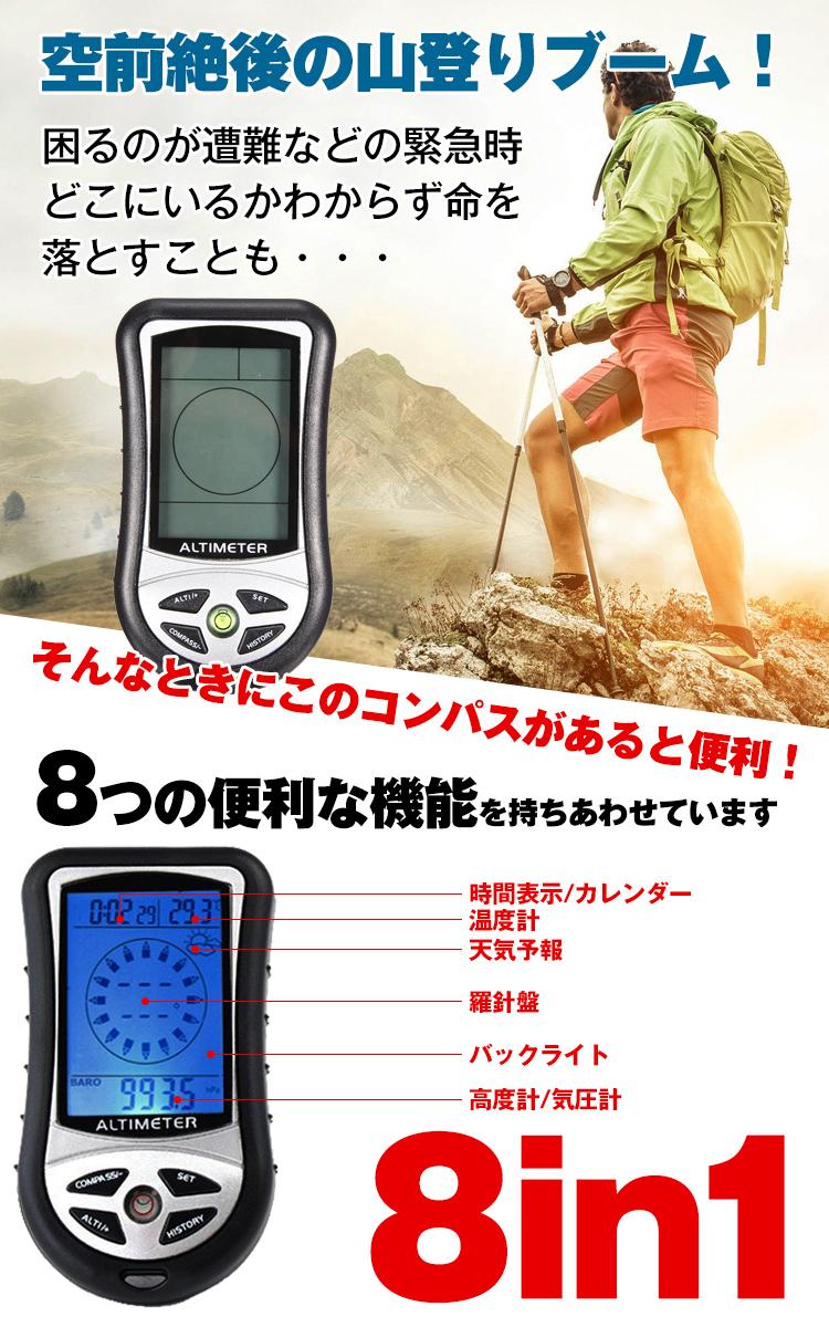 デジタルコンパス ad204