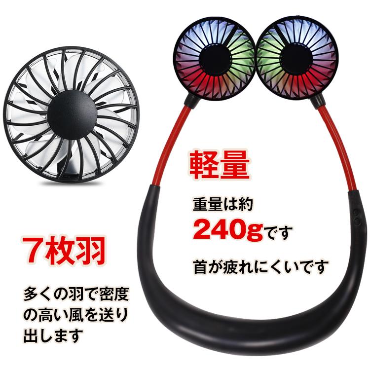 首かけ 扇風機ny165