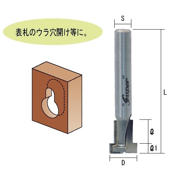 トリマ用キーホールビット TR-57