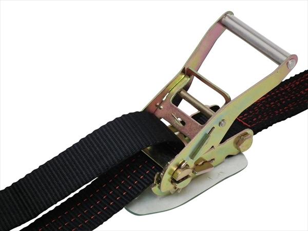 ラッシングベルト黒 アイタイプ3ton 幅50mm 長さ0.5+7m