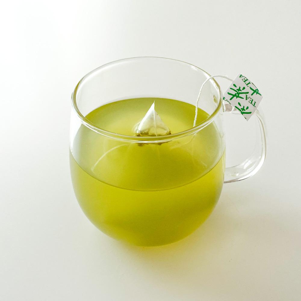 上煎茶紐付きティーバッグ50号(上)500g