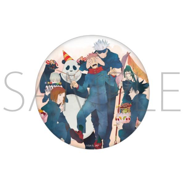 呪術廻戦 虎杖悠仁 BIRTHDAY デカ缶バッジ