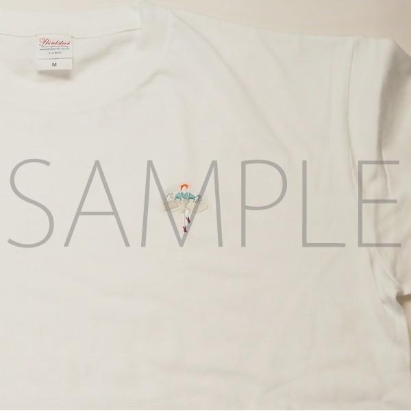 【二次受注】呪術廻戦 刺繍Tシャツ 釘崎野薔薇