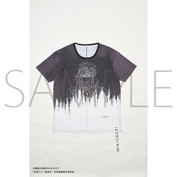 呪術廻戦×MAPPA×MIKIOSUZUKI コラボTシャツ 五条悟B