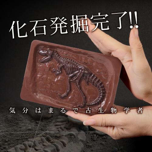 【オールドブック仕様】最高級チョコレートを使った、割って!掘って!楽しむチョコレート★ジュラシックショコラ【ディグアップ】(チョコレート)【お子様へ】