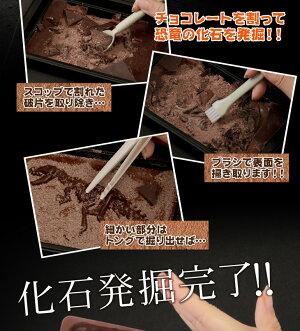 ★ジュラシックショコラ【ディグアップ】割って!掘って!楽しむチョコレート(チョコレート)【お子様へ】