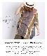 イチマイで印象的。コクーン五分袖タイダイチュニック