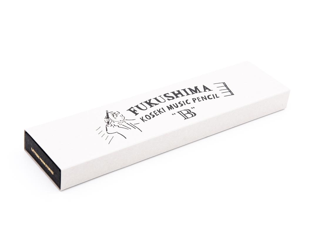 【文化堂】古関裕而愛用鉛筆の復刻!FUKUSHIMA KOSEKI MUSIC PENCIL(12本入り)