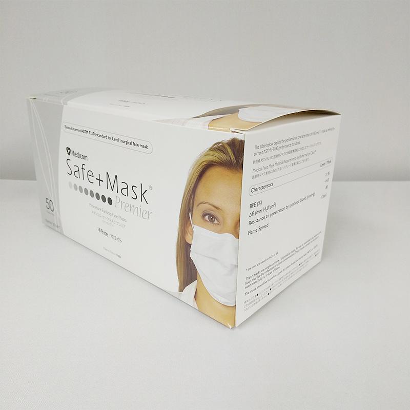 メディコム セーフマスク プレミア ホワイト 2014M 1箱(50枚入)(即日出荷)