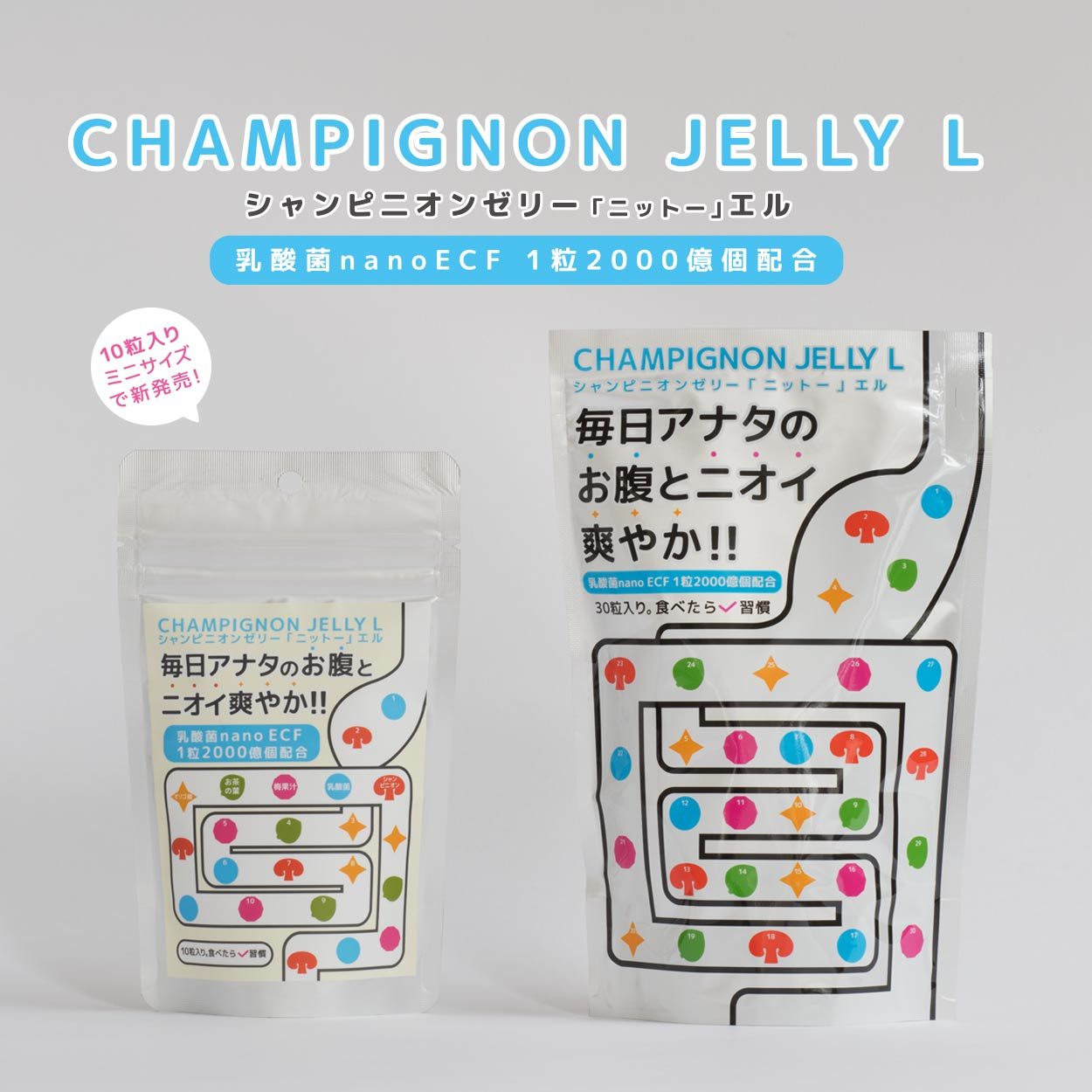 シャンピニオンゼリー ニットー エル 040139 30粒入(1袋) 【返品不可】(即日出荷)