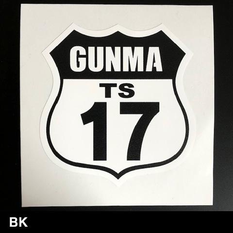 GUNMA-17 オフィシャルステッカー