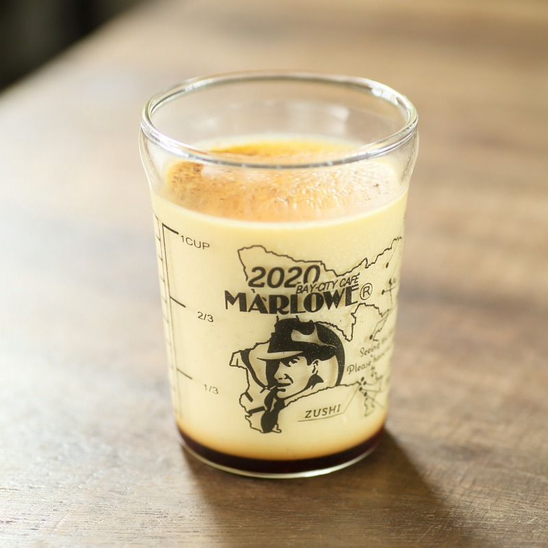 オンライン限定ビーカー入り北海道フレッシュクリームプリン