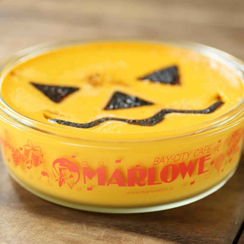 ハロウィンパーティーかぼちゃプリン
