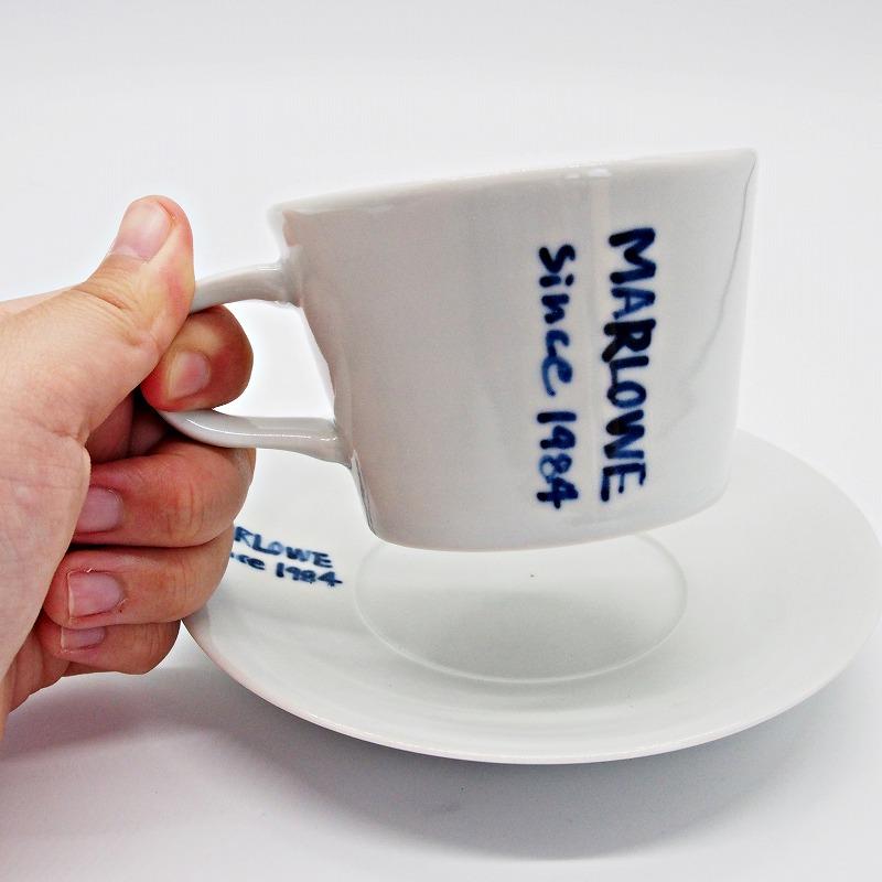 手書きティーカップ&ソーサー